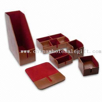 Stationery Set, Includes Pen and Business Card Holder, Mouse Tray, Stationery, and File Holder