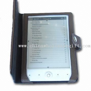 E-book Reader with E-ink Display Technology and G-sensor Function