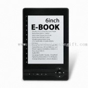 E-book Reader with 6.0-inch E-ink Display and 4-level or 8-level Gray Scale images