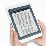 E-book Reader with E-ink Display Technology, G-sensor Function, and Memory of 4GB images