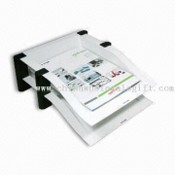 Executive Double Letter Tray with Rubber Leg Base for Firm Grip, Available in Size from A4 to C4 images