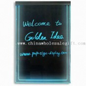 LED Writing Board, with Color Changing Remote, Measuring 520 x 320mm images