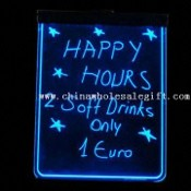 LED Writing Board with Adapter and Pen, Measures 60 x 48cm images