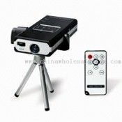 Pocket Projector, Supports Projection of MP3, MP4, Photo, and E-book Display images