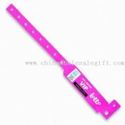 Disposable ID Wristband / Bracelet d'identification, en PVC, mesurant 32 x 212mm images