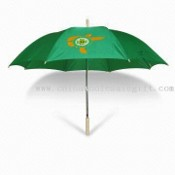Straight Promotional Umbrella with 10mm Metal Shaft, Auto Open images