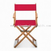 Wood Director Chair, Available with Screen or Heat-transfer Printing images