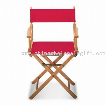 Wood Director Chair, Available with Screen or Heat-transfer Printing
