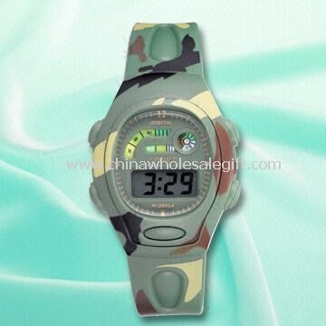 Army 3.5 Digits LCD Watch with Plastic Strap