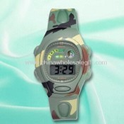Army 3.5 Digits LCD Watch with Plastic Strap images