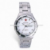 Army Watch with Stainless Steel Case and Band images