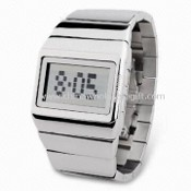 Electronic Watch for Commerce, Made of Stainless Steel Material images