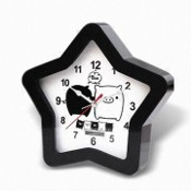 Promotional Desk Clock, Available in Star Design images