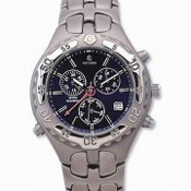 Titanium Watch with Eco-drive Function and Sapphire Crystal images