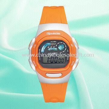 Plastic Watch with 5.5 Digital LCD Screen, Suitable for Gents