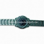 6 x 8 Three-hand Quartz Watch with Alloy Case and Strap, Suitable for Men images