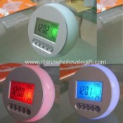 Novelty Colorful Digital Clock, Made of Plastic images