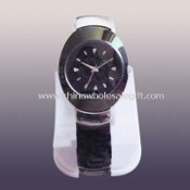 Quartz Analog Watch with Alloy Case and Band images