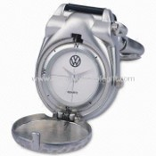 Waterproof Pocket Watch with Alloy Case and Buckle, Ideal for Promotional Gifts images