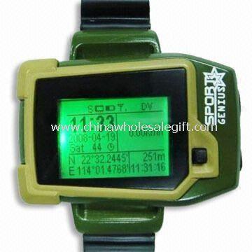 GPS Watch Mobile Phone, GPS Module: SiRF III 20 Channels