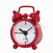 Alarm Table Clock with Metal Case images