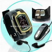 Dual SIM Card Dual Standby Watch Phone, Memory Card Supports to Extend to 8GB images