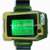 GPS Watch Mobile Phone, GPS Module: SiRF III 20 Channels images