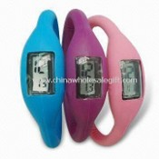 Promotional Digital Watch with Water-resistant Feature and Silkscreen Logo Printing images