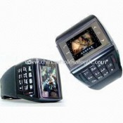 Watch Mobile Phone, Quad-band, Touch-screen with Keyboard images