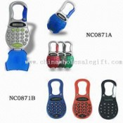 8-digital Carabiner Calculator, Measuring 12.5 x 6.5 x 0.8cm images