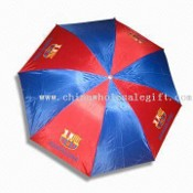 Barcelona Soccer Fans Umbrella, Made of Polyester/Nylon Fabric, Measures 25-inch x 8 Ribs images