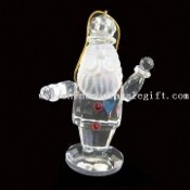 Weihnachtsschmuck mit Santa Claus Shape Design, Made of Crystal images