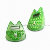 Compact and Lovely Mini Calculator with Durable Rubber Keys, Ideal for Gifts and Promotions images
