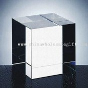 Crystal Block, Suitable for Promotional Gifts, Measuring 80 x 80 x 80mm images