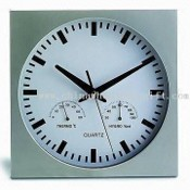 Promotional Wall Clock with Weather Station Function images