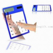 Thin Transparent Touching Screen-Rechner mit Solar Power, Mess-, 12 x 8,2 x 0,6 cm images