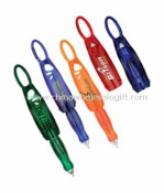 folded Carabiner pen with light FLIP OUT CARABINER PEN images