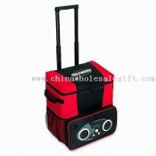 30-pack Radio Cooler on Wheels images