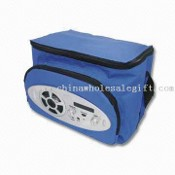 Cooler Bag with Radio, Measuring 22.2 x 26 x 17cm images