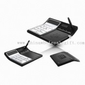 Office Calculator with Eco-memo Board and Mini USB Keyboard images