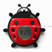 Promotional FM Scan Novelty Radio with Magnetic Timer, Waterproof, and Kitchen/Bathroom Timer images
