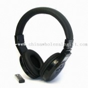 FM Headphone Radio/Wireless Earphones with 60dB SN Ratio, Supports High Sensitive FM Radio images