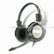 Stereo MP3/MP4 Player Wired Headphone with 20Hz to 20kHz Frequency Response and 20mW Rated Power images