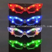 Adults Glow LED Flashing Sunglass in Vivid Design, Ideal for Discos or Concerts images