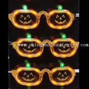 Glow LED Flashing Sunglasses with Vivid Design, Ideal for Discos or Concerts images