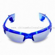 LED Flashing Sunglasses, Can Block Intense Sunlight During Daytime, Ideal for Disco or Concerts images