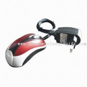 2.4GHz High RF Wireless Mouse with Charger and Adapter images