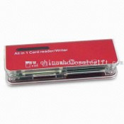 Multi Card Reader, Suitable for Gift and Promotion, RoHS Standard Compliance images