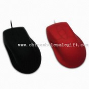 Waterproof Optical Mouse, Made of Silicone with CE, FCC, RoHS Certificate images