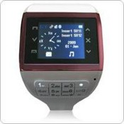 Black Touch Screen Dual SIM - Standby - Bluetooth Music Watch Cell Phone images